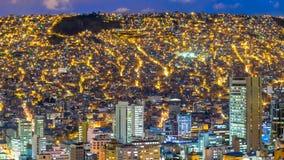 bolivia la paz Royaltyfri Bild
