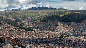 bolivia la paz Royaltyfri Foto