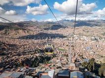 bolivia la paz Royaltyfria Foton