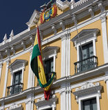 Bolivia - La Paz - South America. Presidential Palace in Murillo Square in La Paz in Bolivia Stock Photos