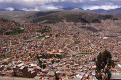 bolivia los angeles Paz Obrazy Royalty Free