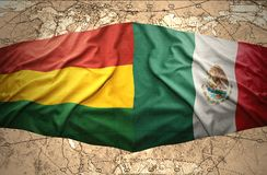 Bolivia and Mexico Royalty Free Stock Photos