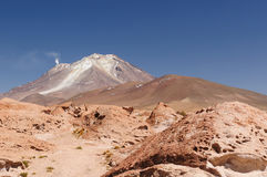 Bolivia, the most beautifull Andes in America Stock Image