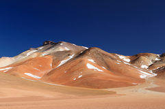 Bolivia, the most beautifull Andes in America Royalty Free Stock Image