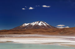 Bolivia, the most beautifull Andes in America Royalty Free Stock Photo