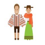 Bolivia national dress Stock Photography