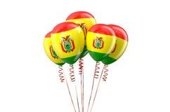 Bolivia patriotic balloons holyday concept Royalty Free Stock Photo