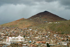 bolivia potosi Royaltyfri Fotografi