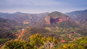 Bolivia, Samaipata, Scenic views and landscapes of National Park. Amboro. Jungle royalty free stock photo