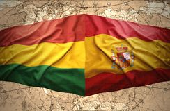 Bolivia and Spain Royalty Free Stock Photo