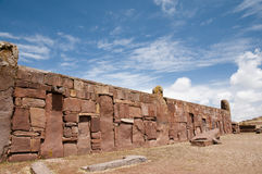 bolivia tiwanaku obraz royalty free