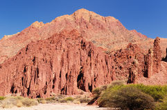Bolivia, Tupiza - beautifull Andes in America Stock Image
