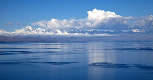 Bolivia. A view from titicaca lake from the sun island, bolivia Royalty Free Stock Photo
