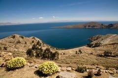 bolivia zol Del Isla Fotografia Stock