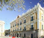 Boliviaans Paleis van Overheid, Palacio Quemado, La Paz, Bolivië stock afbeeldingen