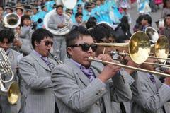 Boliviaanse Fiesta stock foto's