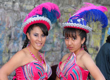 Boliviaanse Fiesta royalty-vrije stock foto's