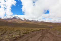 Bolivian altiplano Royalty Free Stock Photography