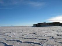 Bolivian desert landscpae Royalty Free Stock Photos