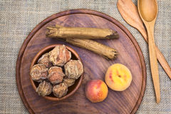 Bolivian Dried Peach Called Quisa Royalty Free Stock Photography