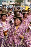 Bolivian fiesta Royalty Free Stock Photography