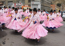 Bolivian fiesta Stock Photography