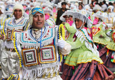 Bolivian Fiesta Royalty Free Stock Photo