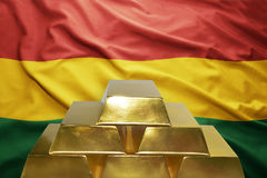 Bolivian gold reserves Stock Photo