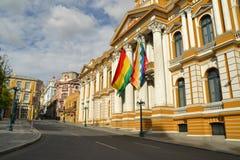 Bolivian Government Building, La Paz Stock Images