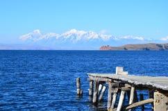 bolivian krajobraz Obraz Royalty Free