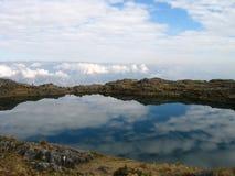 Bolivian lake Royalty Free Stock Photo