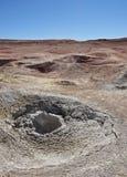 Bolivian Landscape. Bolivia, Potosi Departmant, Sur Lipez Province, Eduardo Avaroa Andean Fauna National Reserve, Landscape of the Geisers Sol de Manana Stock Photography