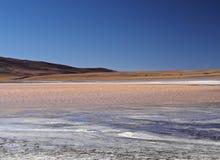 Bolivian Landscape. Bolivia, Potosi Departmant, Sur Lipez Province, Eduardo Avaroa Andean Fauna National Reserve, Landscape of the Laguna Colorada Stock Image