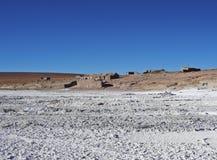 Bolivian Landscape. Bolivia, Potosi Departmant, Sur Lipez Province, Eduardo Avaroa Andean Fauna National Reserve, Landscape of the Salar de Chalviri Stock Images