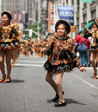 Bolivian Native Girl Royalty Free Stock Photos