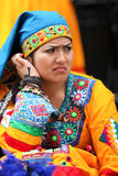 Bolivian Native Woman Royalty Free Stock Images
