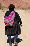 Bolivian native women Stock Photo