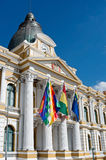 Bolivian Palace of Government in La Paz, Bolivia Stock Photography
