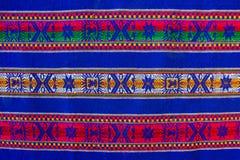Bolivian pattern Stock Image