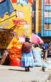 Bolivian people Stock Photography