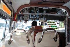 Bolivian Public Bus Stock Photography
