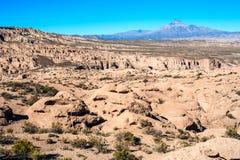 On the Bolivian road from Tupiza tu Uyuni Royalty Free Stock Photo