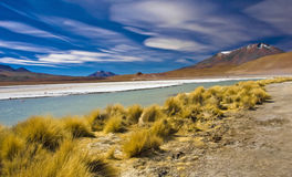 Bolivian's mountain Royalty Free Stock Images