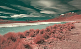 Bolivian's mountain Royalty Free Stock Photos