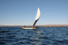 bolivian segling Arkivfoton