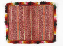 bolivian textil Arkivbilder