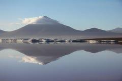 Bolivian volcano Royalty Free Stock Image