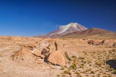 Bolivian volcano Royalty Free Stock Photos