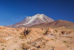 Bolivian volcano Royalty Free Stock Photo
