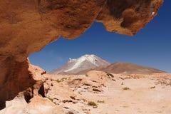 bolivian vulkan Arkivbild